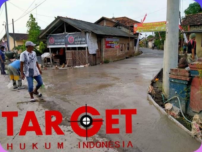 Peltu Mardani  : Proges TMMD Sengkuyung di Desa Tondomulyo Sudah Mencapsi 85%