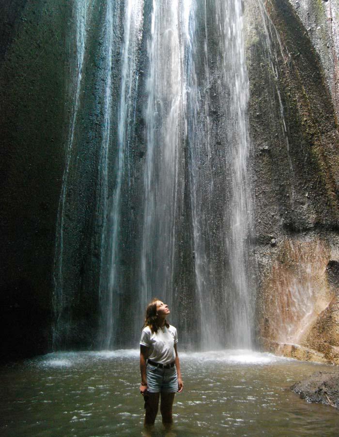 Fasilitas Wisata Tukad Cepung Waterfall