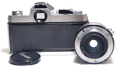 Nikkormat FT3 (Chrome) Body #349, Nikon Nikkor Ai-S 28mm 1:3.5 #894