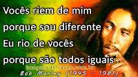 Frases e Pensamentos de Bob Marley