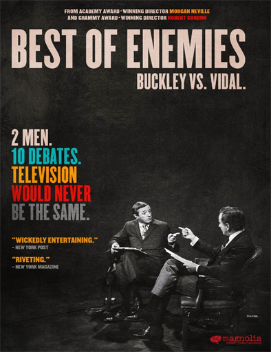 Ver Best of Enemies (2015) Online