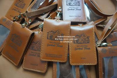 Jual Souvenir Tempat Id Card Kulit Pekanbaru