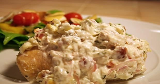Cream Cheese Stuffed Chicken Recipe