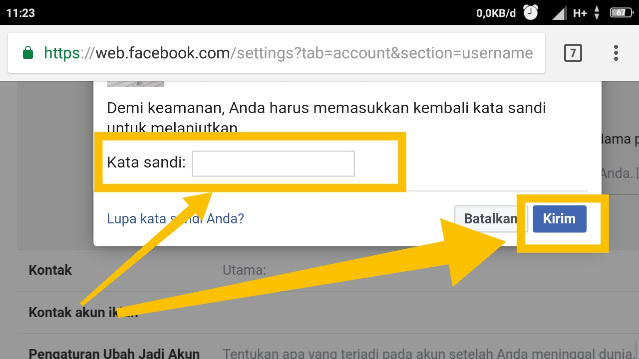 cara membuat tulisan yang mengandung link aktif di status facebook