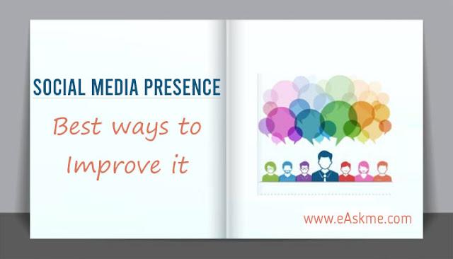 5 Ways to Improve Your Social Media Presence: eAskme