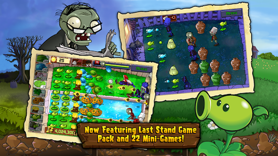 Game Offline Terbaik untuk Android  plants vs zombie