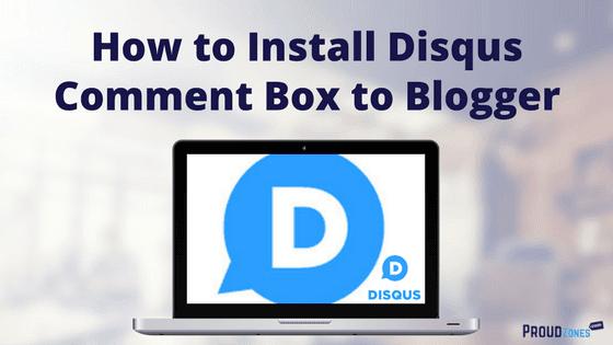 Install Disqus on Blogger
