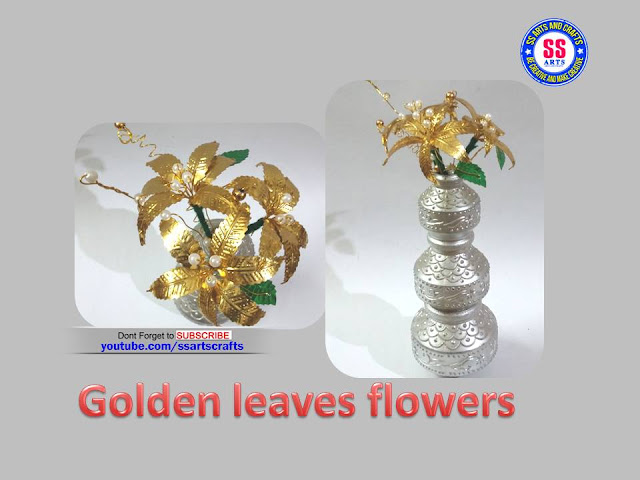 Here is how to make golden leaves crafts,how to make decorate with god room,how to make god tooranem,how to make flowers with craft wire,how to make golden flowers with room decoration,how to make golden leaves tree,how to make golden leaves flowers