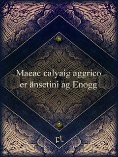 Maeac calyaig aggrico er änsetini ag Enogg Cover