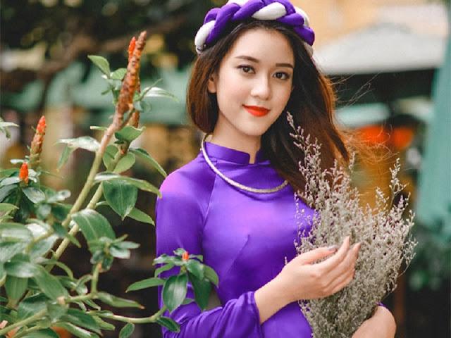 Vẻ đẹp rung động của con gái làng Kim Long