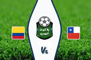نتيجة مباراة تشيلي وكولومبيا اليوم الاربعاء 14 / أكتوبر / 2020 في تصفيات كأس العالم