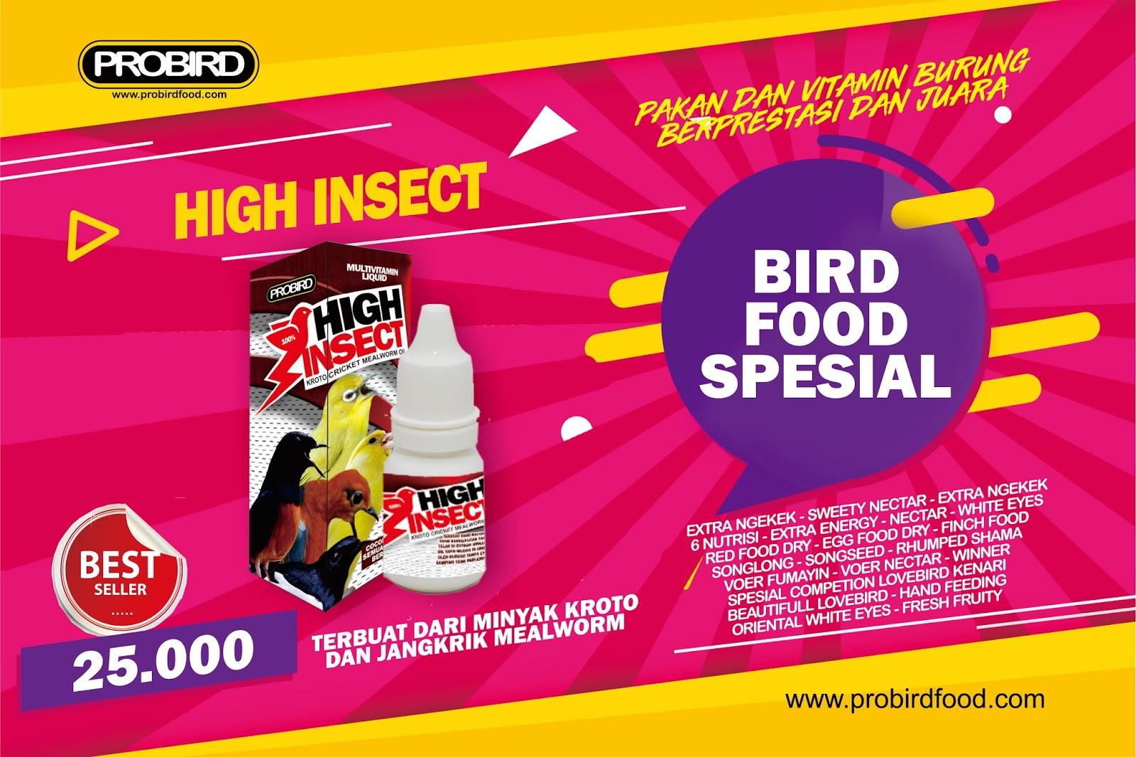 High Insect Minyak Jangkrik Dan Kroto Probird