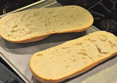 Cheesy Artichoke Bread