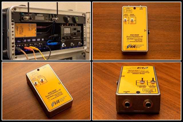 高品位なバッファ HI Grade Sound Stabilizer & Phase Control System (SSPH-HG)