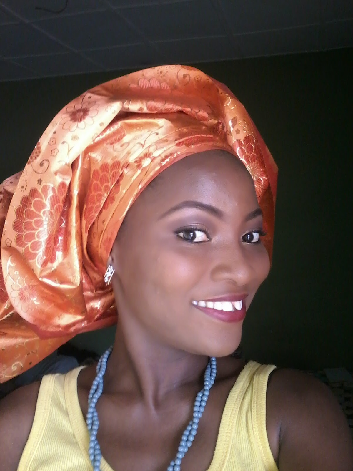 gele makeup Bella naija beautiful eagle