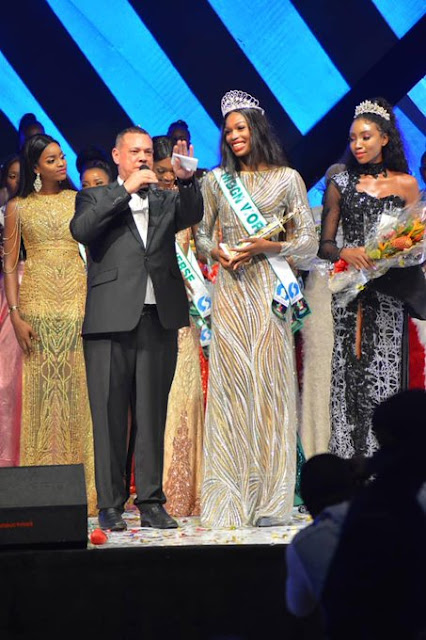 #MBGN2019; Miss Rivers, Nyekachi Douglas wins most Beautiful Girl in Nigeria 2019