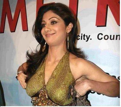 shilpa shetty sexy saree nude photo