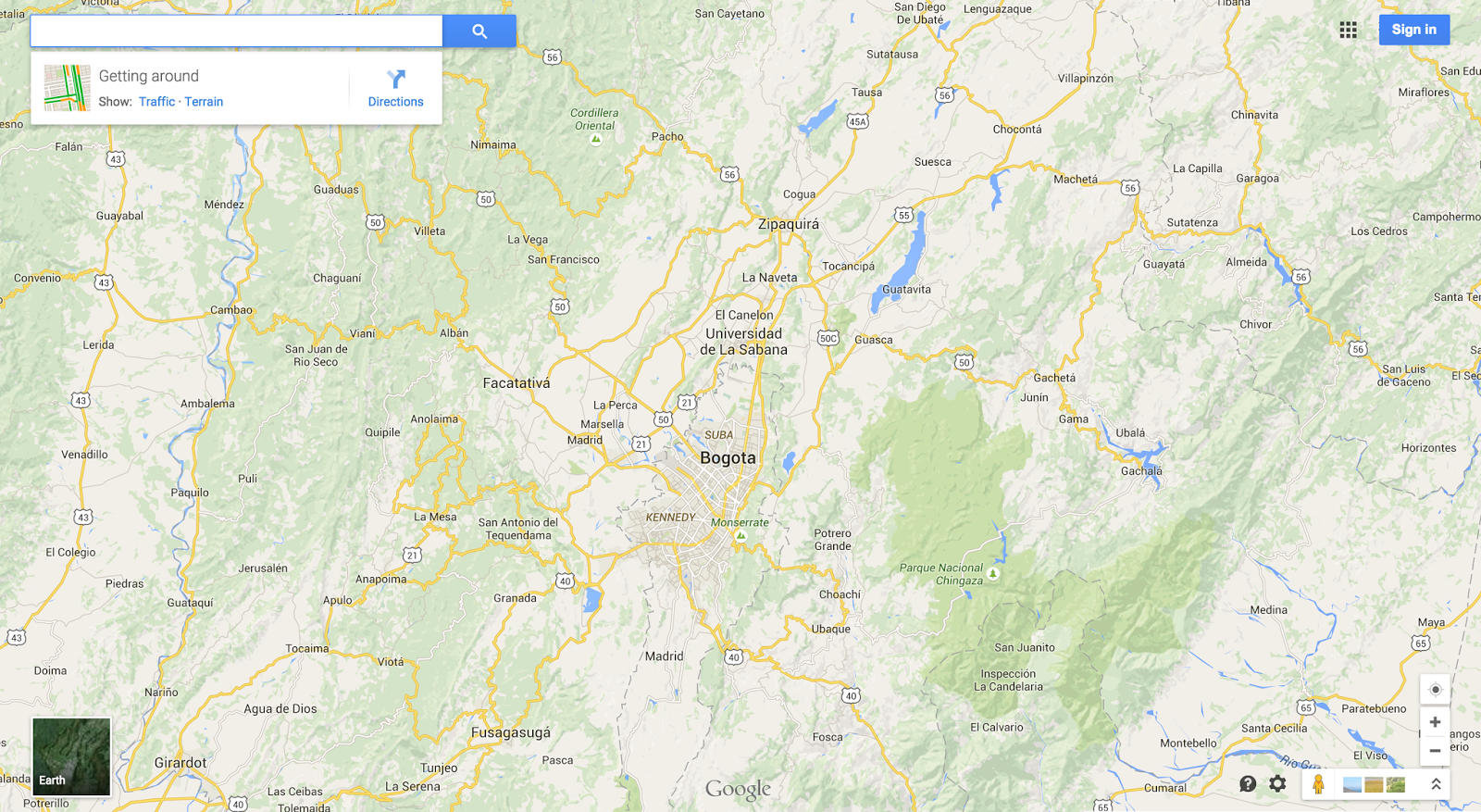 Google Lat Long Building Better Maps In Argentina Chile - Argentina highway map
