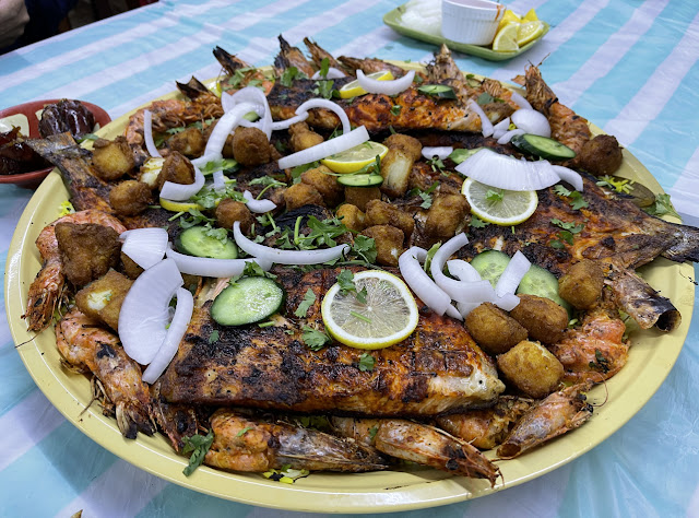Platter of Grilled Seafood
