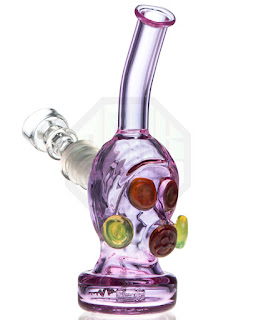 GLASS GAS MASK DAB RIG