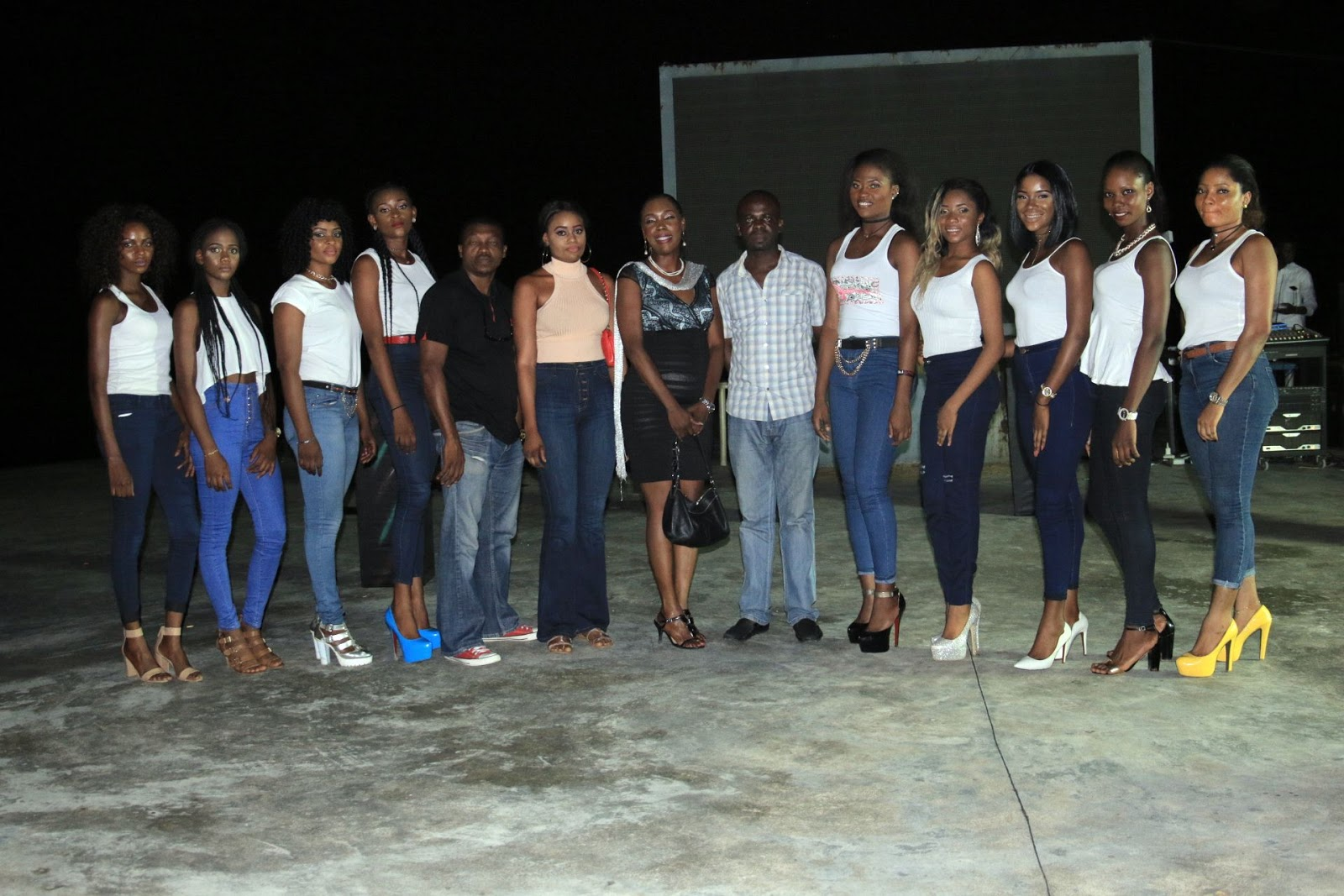 , Photos of the Miss Bayelsa 2016 Beauty Pageant Debate, Latest Nigeria News, Daily Devotionals & Celebrity Gossips - Chidispalace