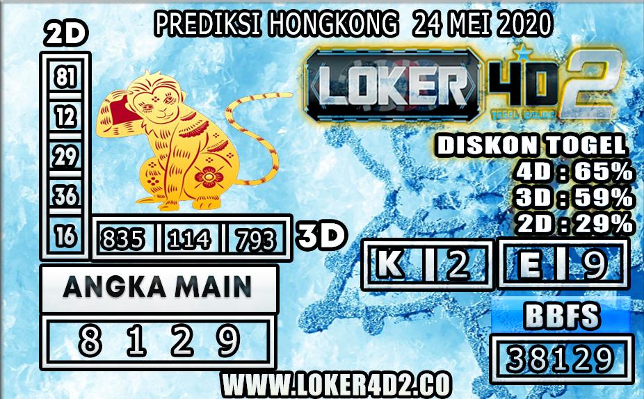 PREDIKSI TOGEL HONGKONG LOKER4D2 24 MEI 2020