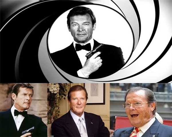 James Bond Roger Moore Meninggal Dunia
