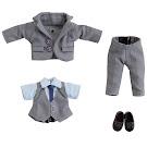 Nendoroid Office Set, Suit Grey Clothing Set Item