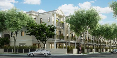 Sắp mở bán biệt thự ven sông cao cấp Nine South Estates
