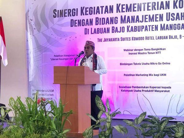 Edistasius Endi Ungkap Status Labuan Bajo Sebagai DPSP Jadi Kebanggaan Warga Mabar