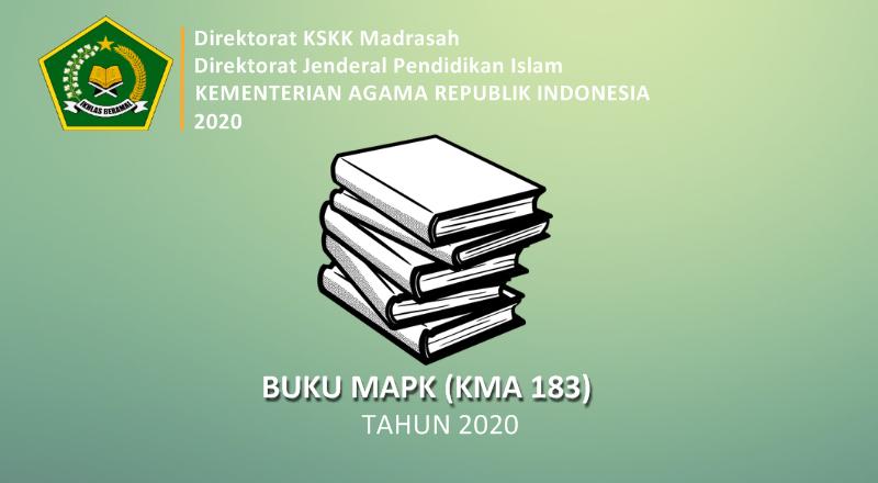Buku Madrasah Aliyah Peminatan Keagamaan (MAPK) Sesuai KMA 183 Tahun 2020