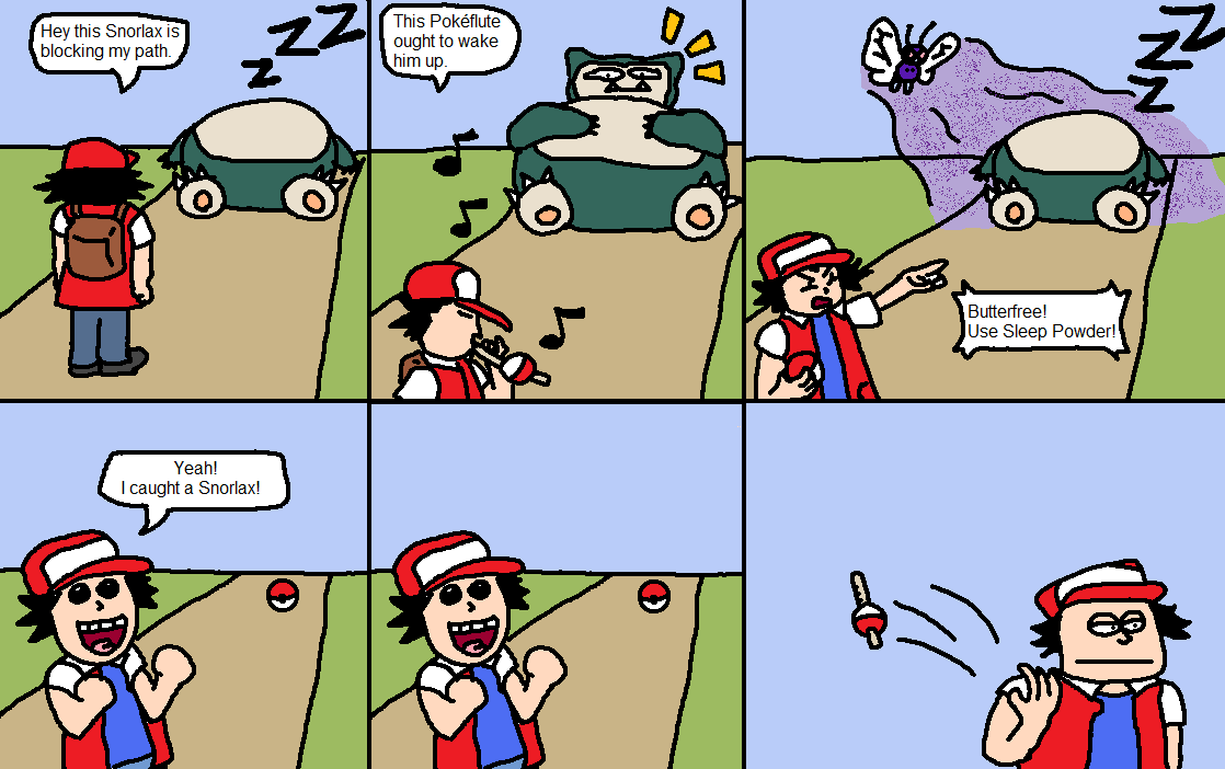 How to catch a Snorlax