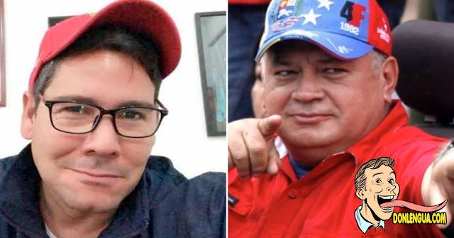 Winston Vallenilla le da una jalada de bolas a Diosdado Cabello
