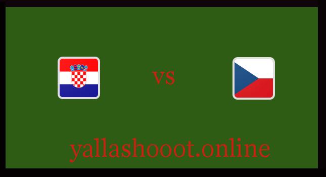 موعد مباراة كرواتيا ضد التشيك يلا شوت اليوم الجمعة الموافق 18-6-2021 يورو 2020