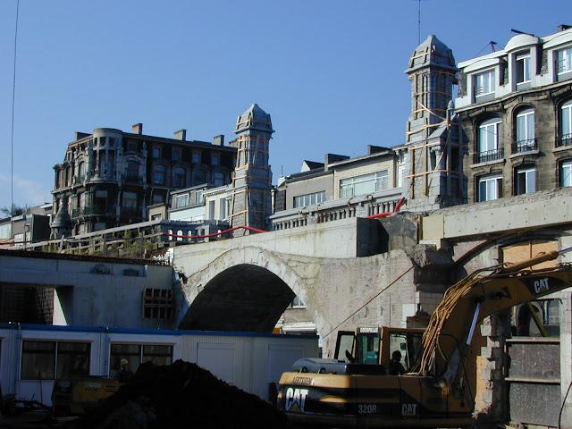 Kabelzagen brug gewelven - Kabelzagen metselwerk - Station Antwerpen - Diabeton