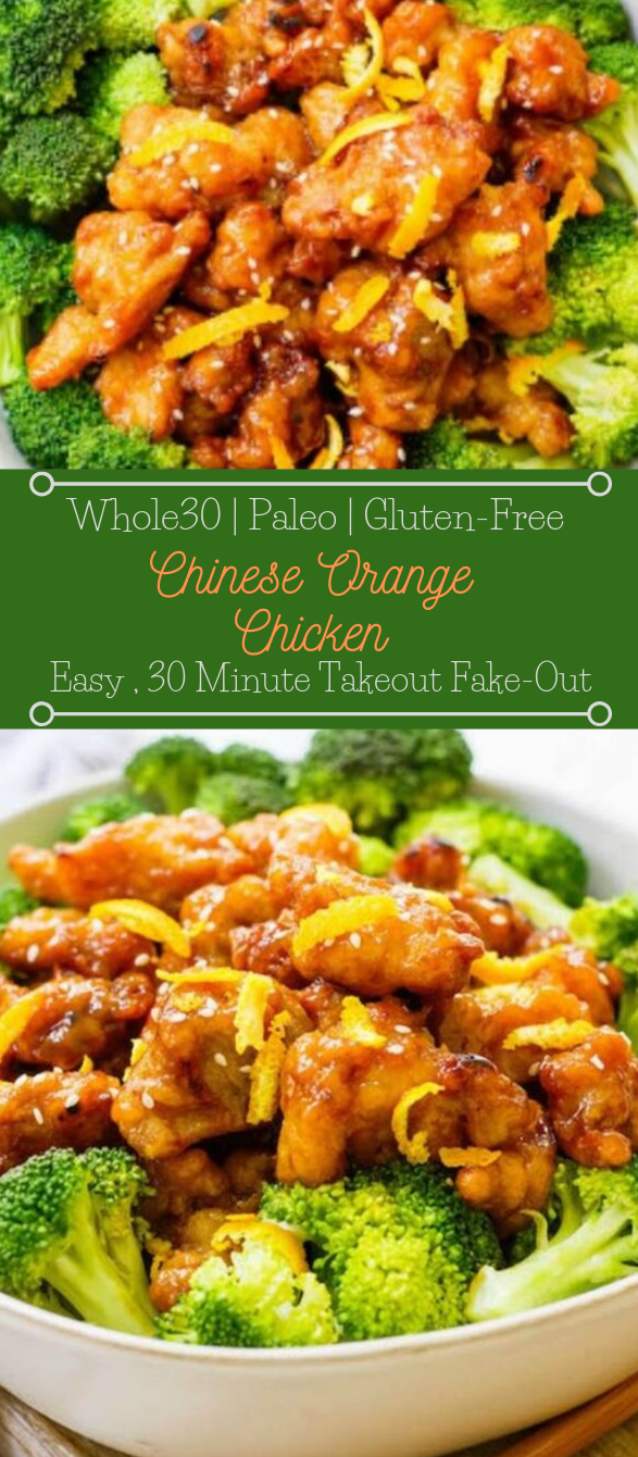 Easy Whole30 Chinese Orange Chicken #easy #healthydiet #whole30 #keto #lowcarb