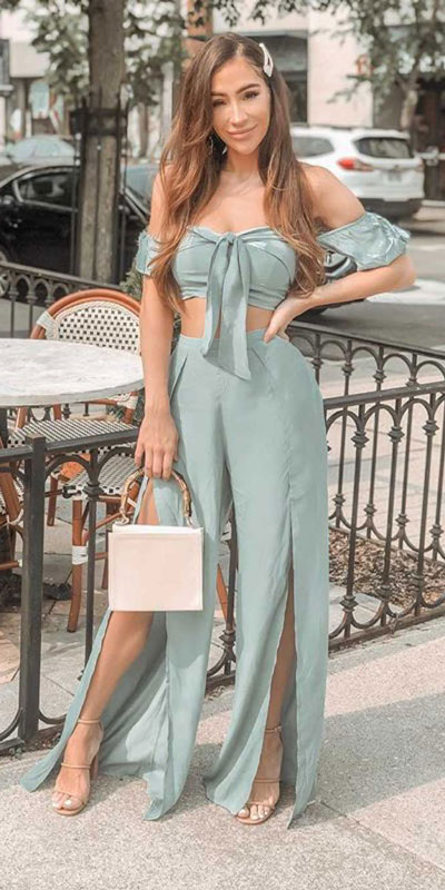 Capture everyone's attention with these latest summer looks. 27 Trending Summer Outfits by Stylish Instagram Influencers. Summer Styles via higiggle.com | cute dress | #summeroutfits #instagram #style #dress