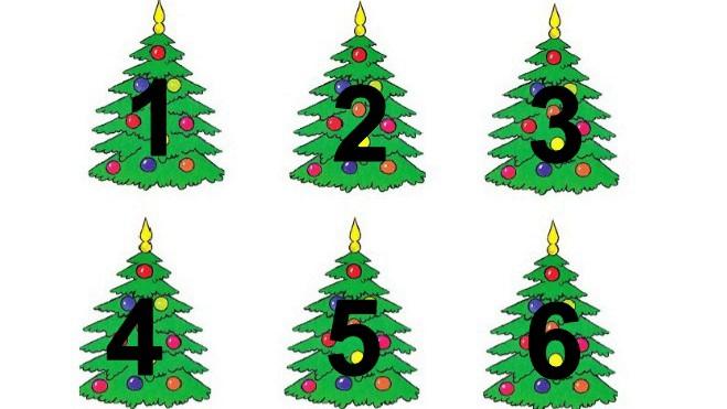 Новогоднее гадание! Выберите елку и узнайте, что принесёт Вам Новый год