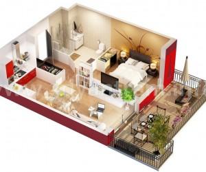 Denah Rumah Minimalis Murah