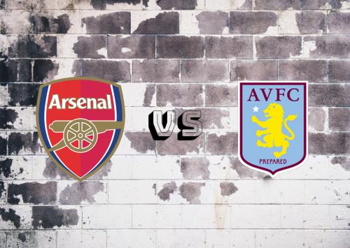 Arsenal vs Aston Villa  Resumen y Partido Completo