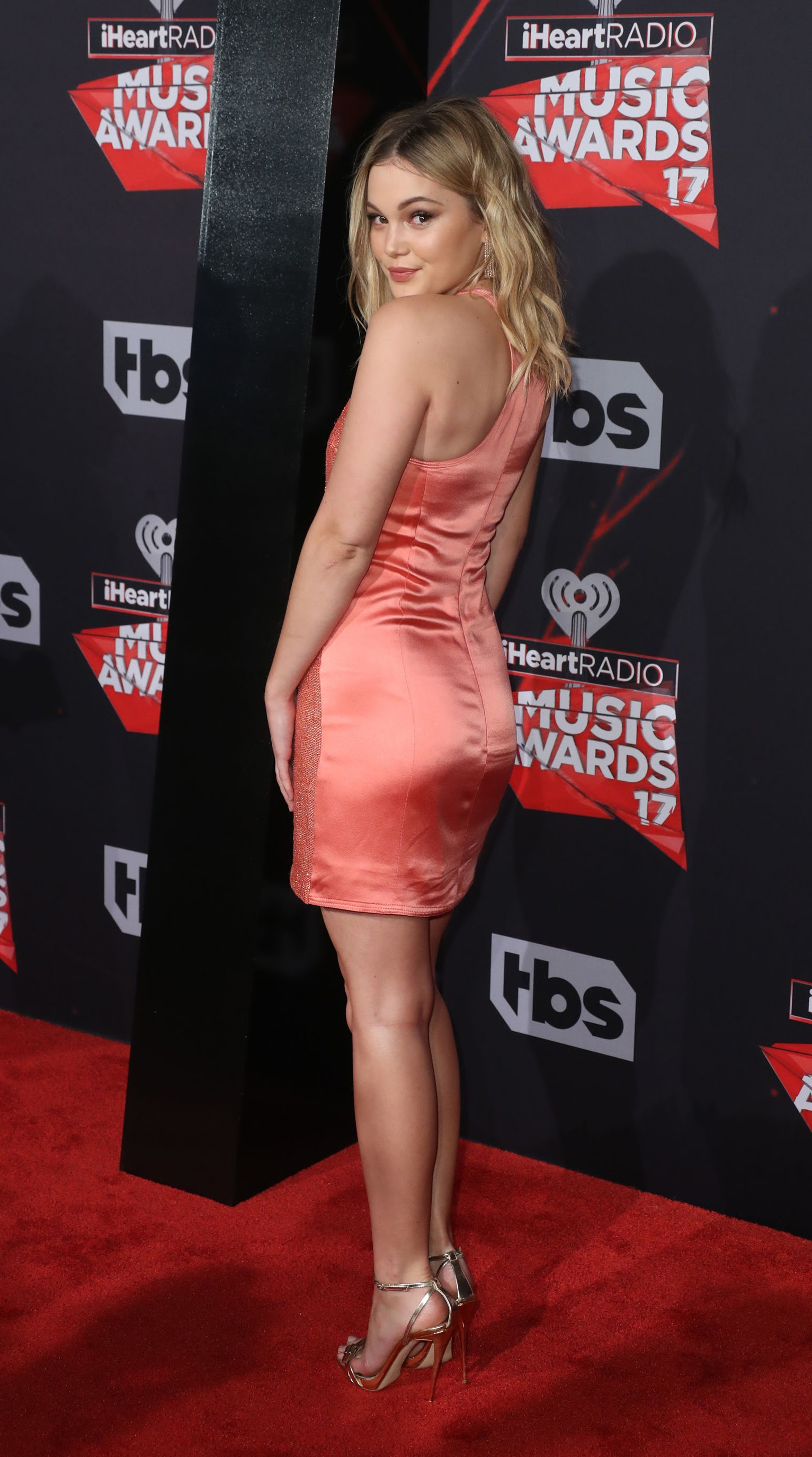 Olivia Holt attended iHeartRadio Music Awards