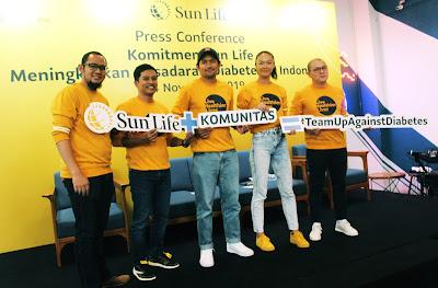 Sun Life Indonesia ajak masyarakat lebih peduli terhadap diabetes