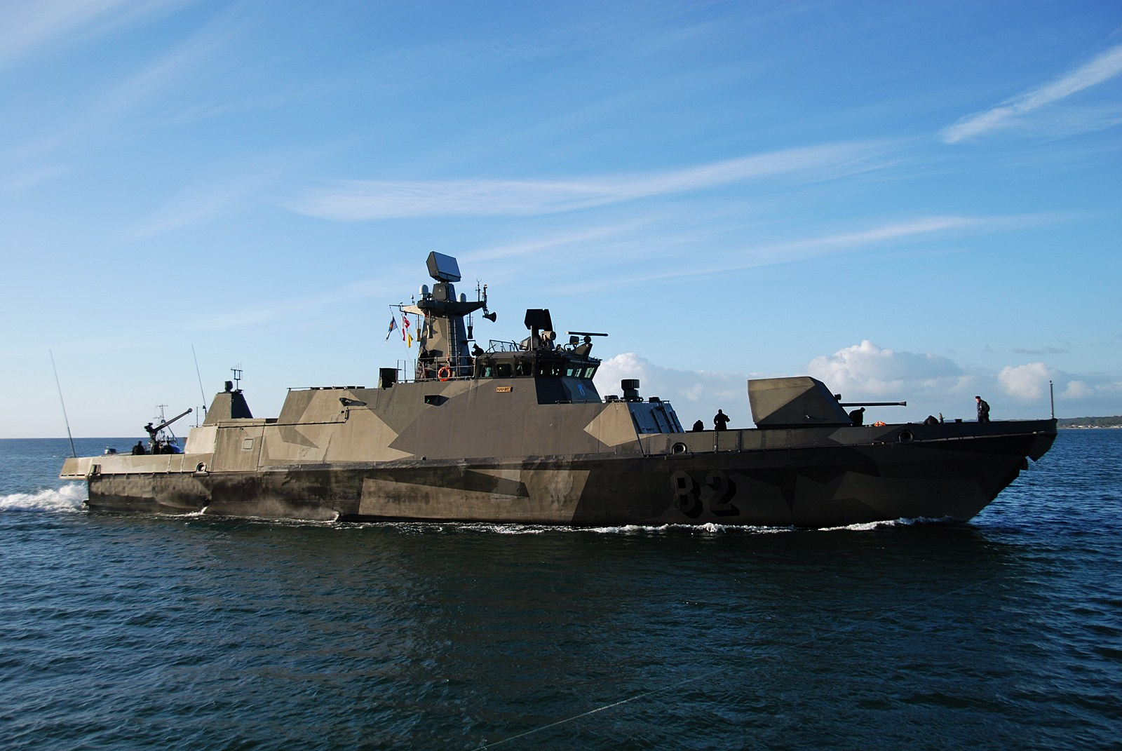 Military and Commercial Technology: Finland's Hamina-class ...