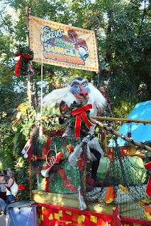 Rafiki Float Mickey's Jingle Jungle Expedition
