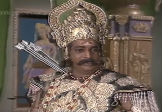 Vilas Raj as Lavnashur in Uttar Ramayan