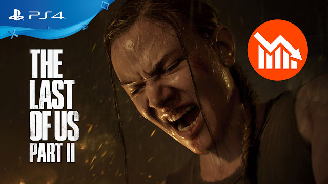 the last of us 2 sales drop 80% uk charts ps4 exclusive action adventure survival horror naughty dog sony entertainment interactive tlou 2