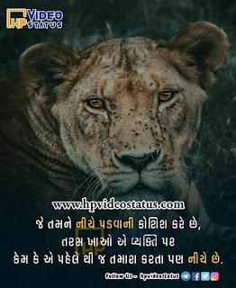 જે તમને નીચે પડવાની | Suvichar In Gujarati | Whatsapp Status