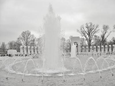 The WWII Memorial Washington DC