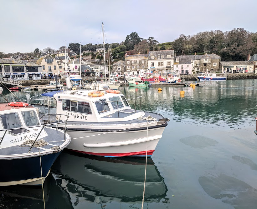 Waterside Cornwall Review | Self-Catering Lodges Near The Eden Project - padstow harbour