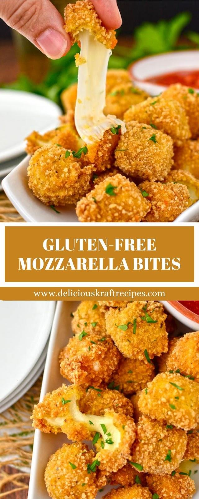 GLUTEN-FREE MOZZARELLA BITES